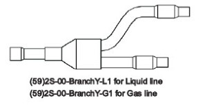 ymgi Y-type SET branch pipe of (59)2S-00-BranchY