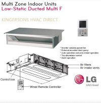 LMDN186HV 18000 BTU LG Concealed Duct Low Static Air Handler