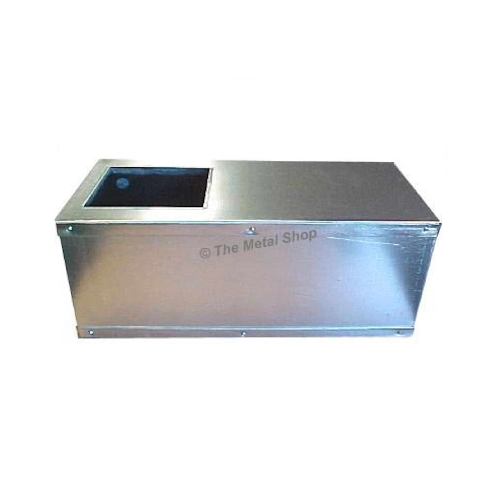"The Metal Shop 003-512 - Gas Furnace Coffin Box 46"" W X 28"" D X 19"" H"