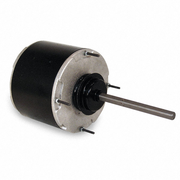 CENTURY 3/4 HP Condenser Fan Motor,Permanent Split Capacitor,1075 Nameplate RPM,208-230/460 Voltage,Frame 48