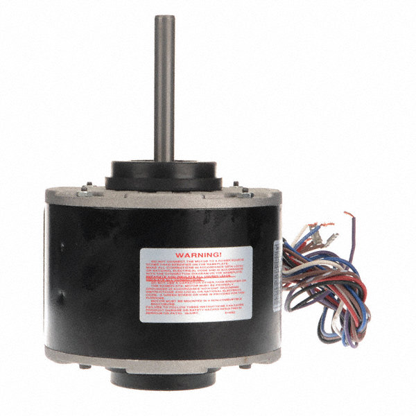 CENTURY 1/6 HP Direct Drive Blower Motor, Permanent Split Capacitor, 1050 Nameplate RPM, 115/208-230 Voltage