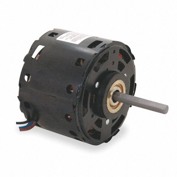 CENTURY 1/3 HP Condenser Fan Motor, Permanent Split Capacitor, 1075 Nameplate RPM, 115 VoltageFrame 48Y