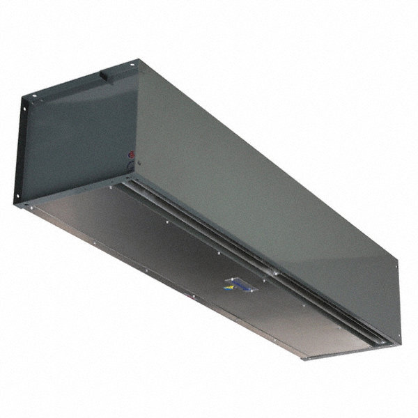 BERNER Air Curtain, 16 ft. Max. Door Width, 12 ft. Max. Mount Ht., 69 dBA @ 10 Feet, 5292 fpm