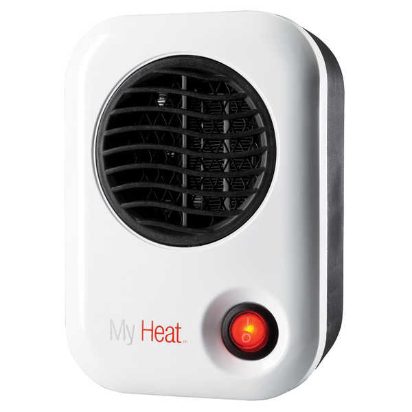 Lasko 101 White My Heat Personal Heater