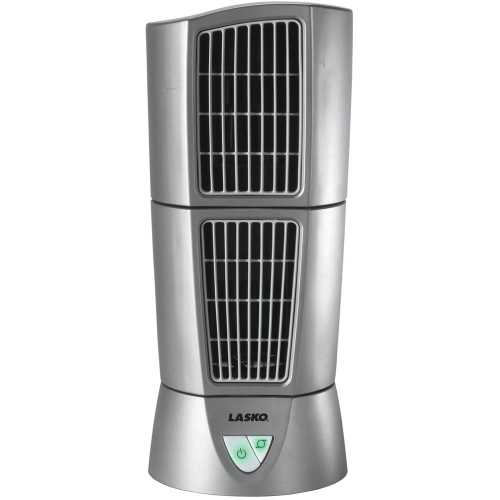 Lasko Desktop Wind Tower - Platinum Lasko 4910 Desk Top Wind Tower Fan