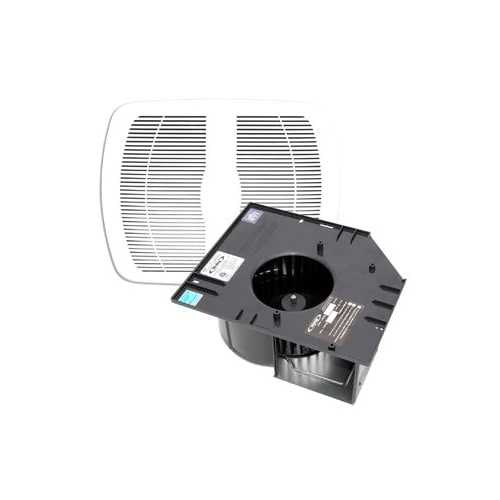 Air King AK90MBG Contractor Pack, 90 CFM Exhaust Fan with Grille and 1.5 Sones (Package of 4)