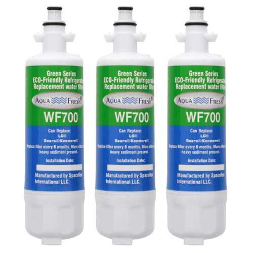 Aqua Fresh Replacement Water Filter Cartridge for Kenmore 04609690000P Filter - (3 Pack)