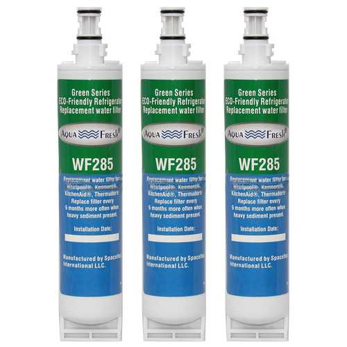 Aqua Fresh Water Filter Cartridge For Kenmore 51259 Refrigerators - 3 Pack