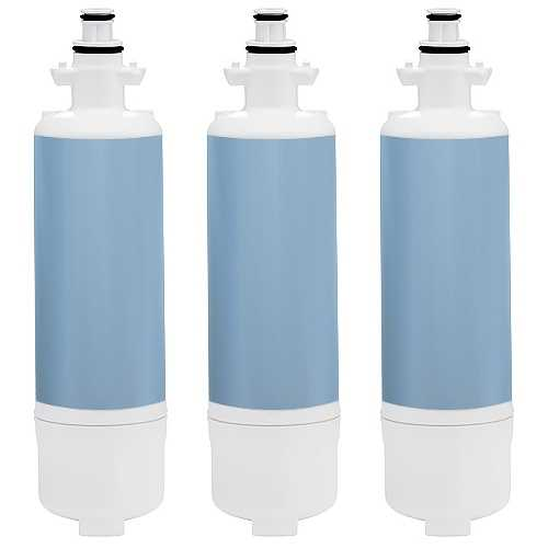 New Replacement Water Filter For Kenmore 72123 Refrigerators - 3 Pack