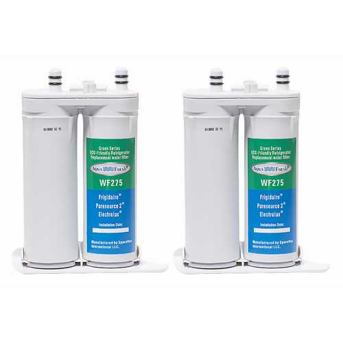 Aqua Fresh Replacement Water Filter Cartridge for Electrolux E23CS78HSS (2-Pack)