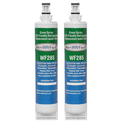 Aqua Fresh Water Filter Cartridge For Kenmore 57064 Refrigerators - 2 Pack