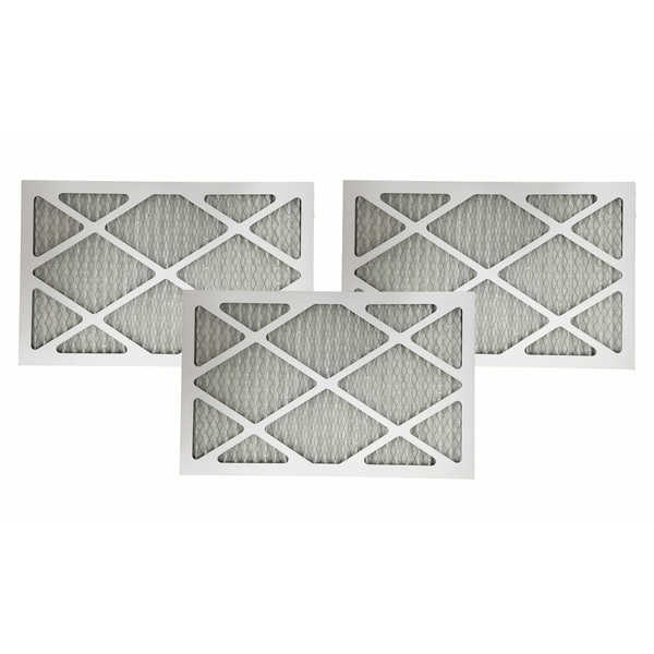 3 MERV 11 Allergen Air Furnace Filters 16x25x1 - air filter