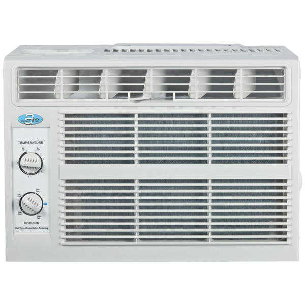 PERFECT AIRE 4PMC5000 5000BTU Mechanical Window Air Conditioner - Light Grey