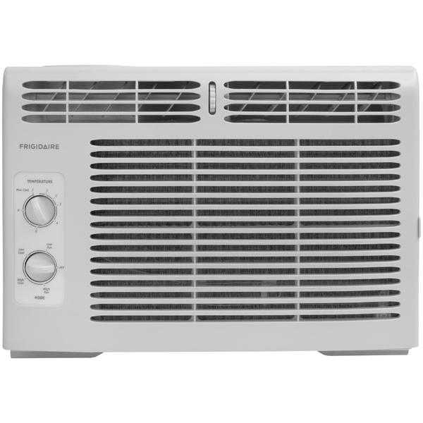Frigidaire FFRA0511Q1 5,000 BTU 115V Window-Mounted Mini-Compact Air Conditioner with Mechanical Controls