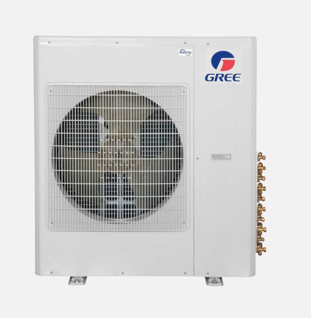 Gree Terra MULTI42CTERRA204 - 42,000 BTU Multi21+ Dual-Zone Wall Mount Mini Split Air Conditioner Heat Pump 208-230V (12-12)