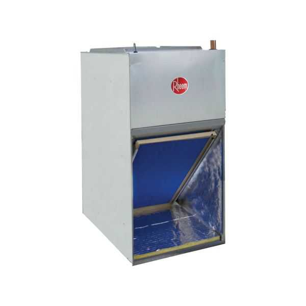 Rheem RF1P3024SPANJAB08417 - RF1P Series 2 1/2 Ton Front Return Aluminum Coil Air Handler, PSC, 8 kW Heater, Float Switch