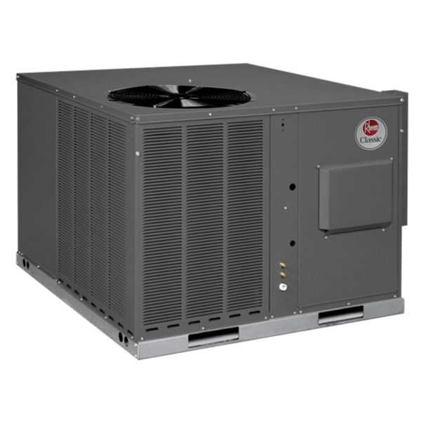 Rheem RGEA15030AJV06XAA - Classic 2 1/2 Ton 15 SEER Packaged Gas/Electric Unit, 208-230/1/60, 60K MBH, ECM, 1 Stage NOx
