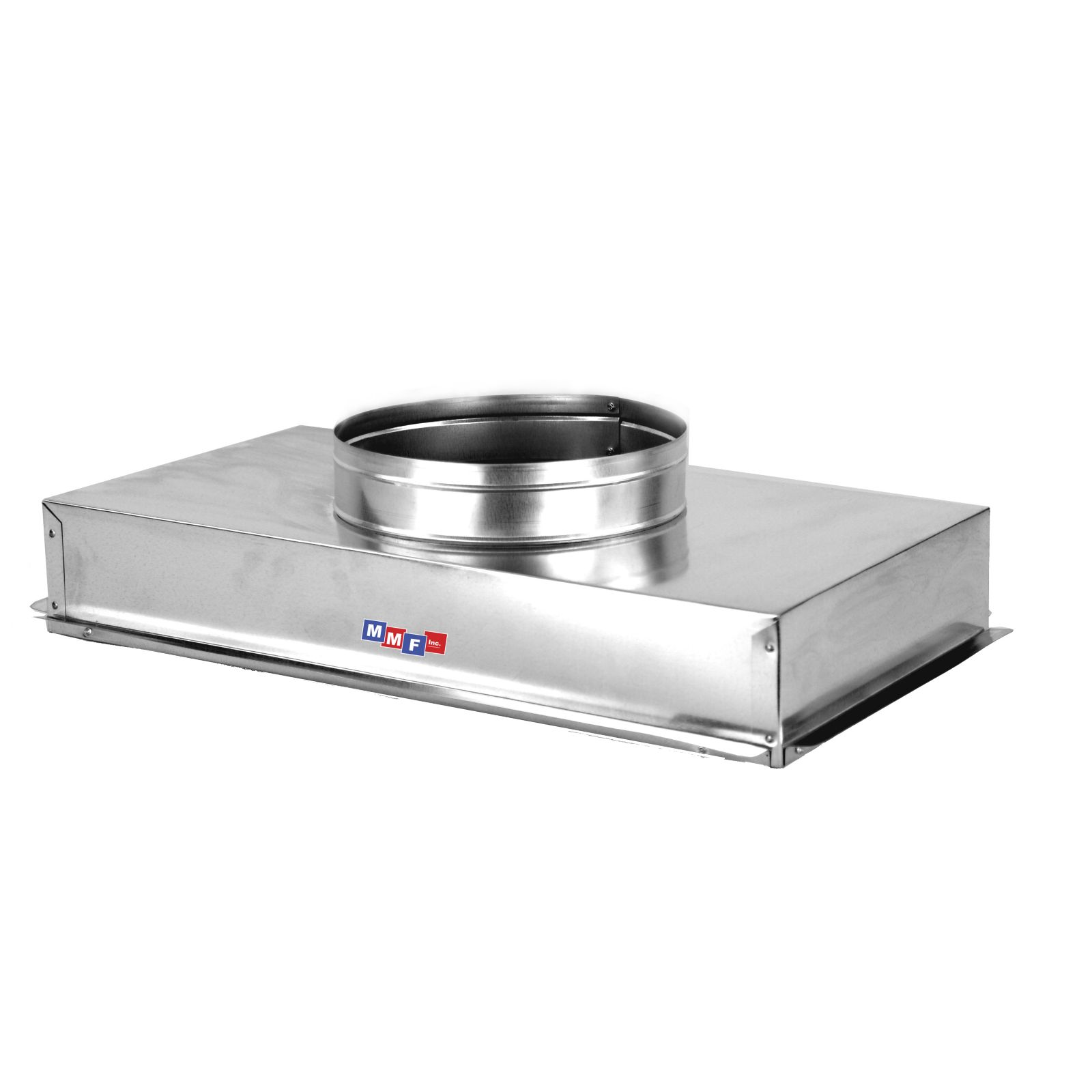 "Modular Metal ACRH2516GS - Return Air Can - 28 Gauge - Raw - Seal All Seams25 1/4"" X 16 1/4"" Uninsulated - 6"" High"