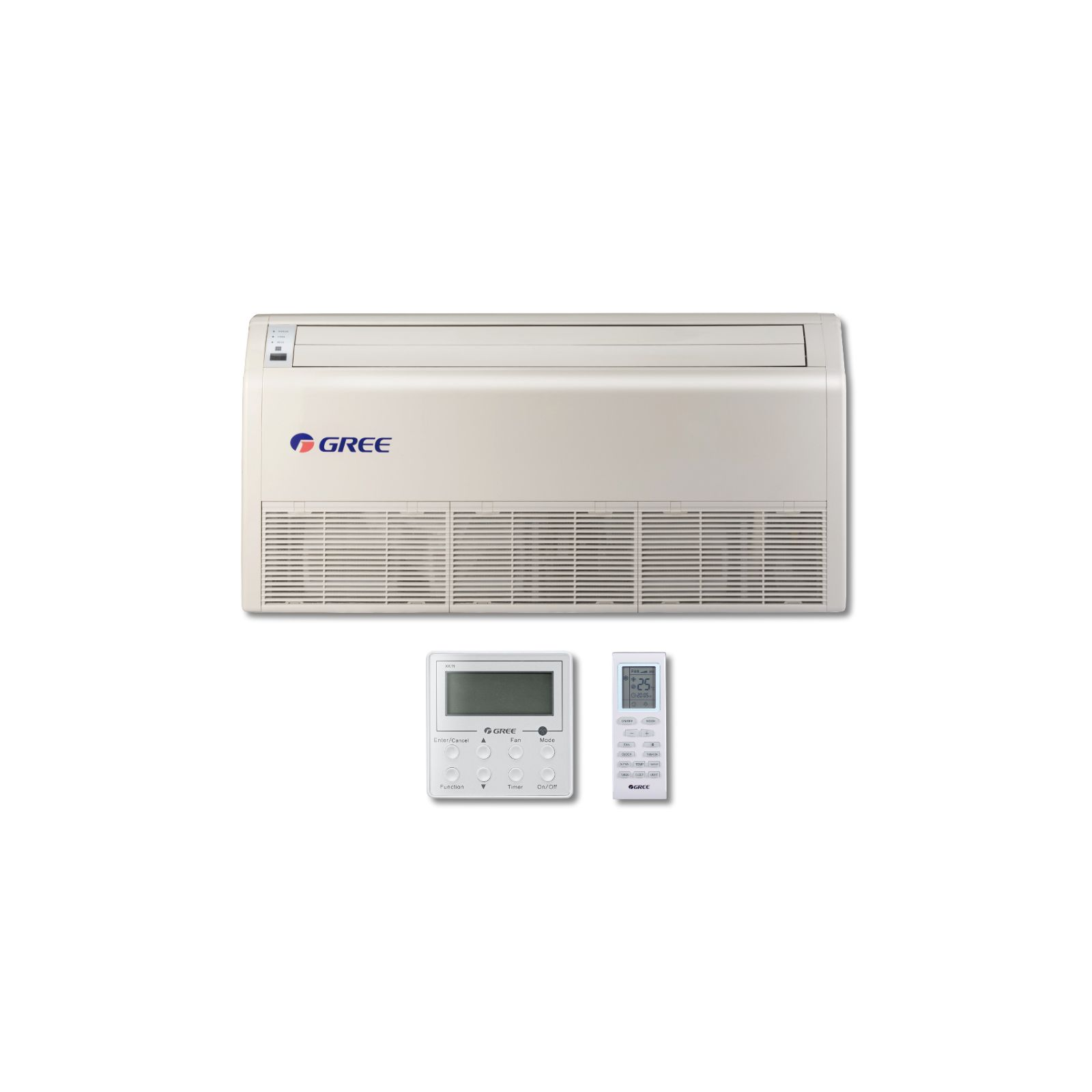 GREE FLR24HP230V1AF - Multi+ Universal Indoor Floor / Ceiling Heat Pump, 24K BTU, 208-230 V, 60 Hz