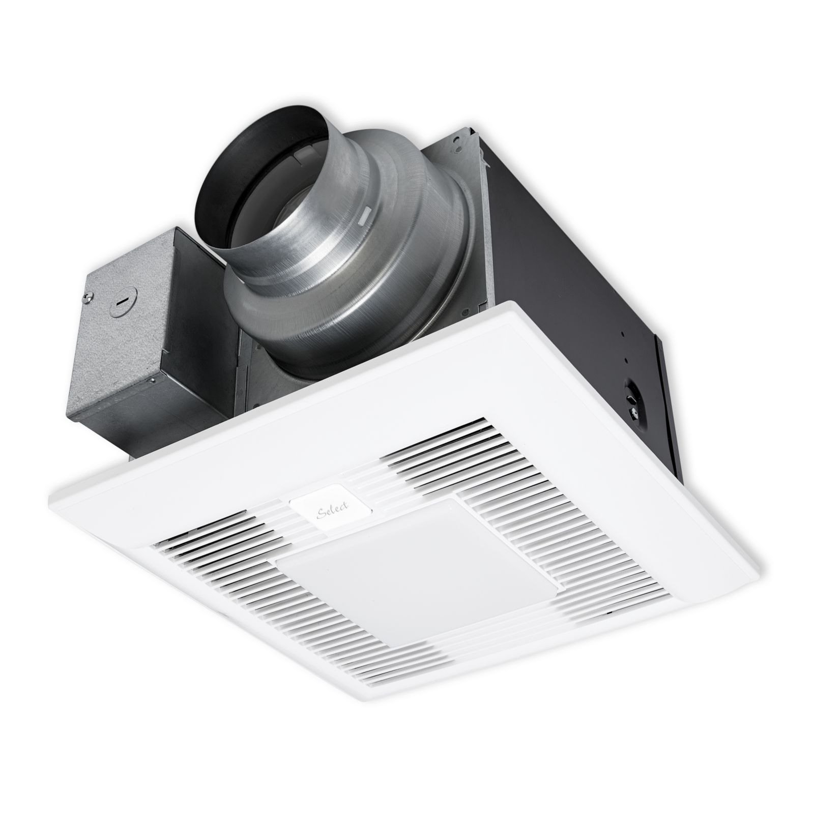 Panasonic FV-05-11VKL1 - WhisperGreen Select Ceiling Mount Fan, LED Light, Pick-A-Flow Speed Selector, 50, 80 or 110 CFM