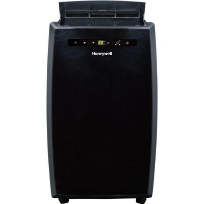 12,000 BTU Portable Air Conditioner with Remote Control in Black