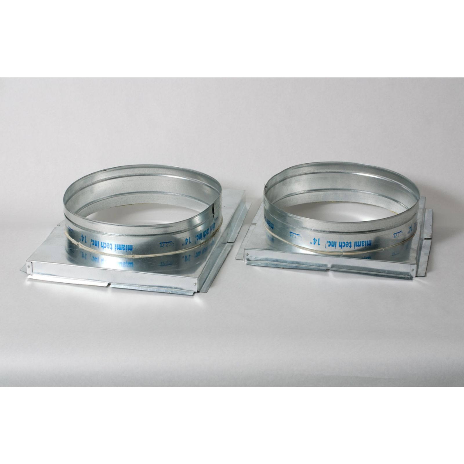 "Miami Tech RTCPU14SR - Take-Off 14"" Collar For Rheem/Ruud Package Unit, 26 Gauge, 1 set (2)"
