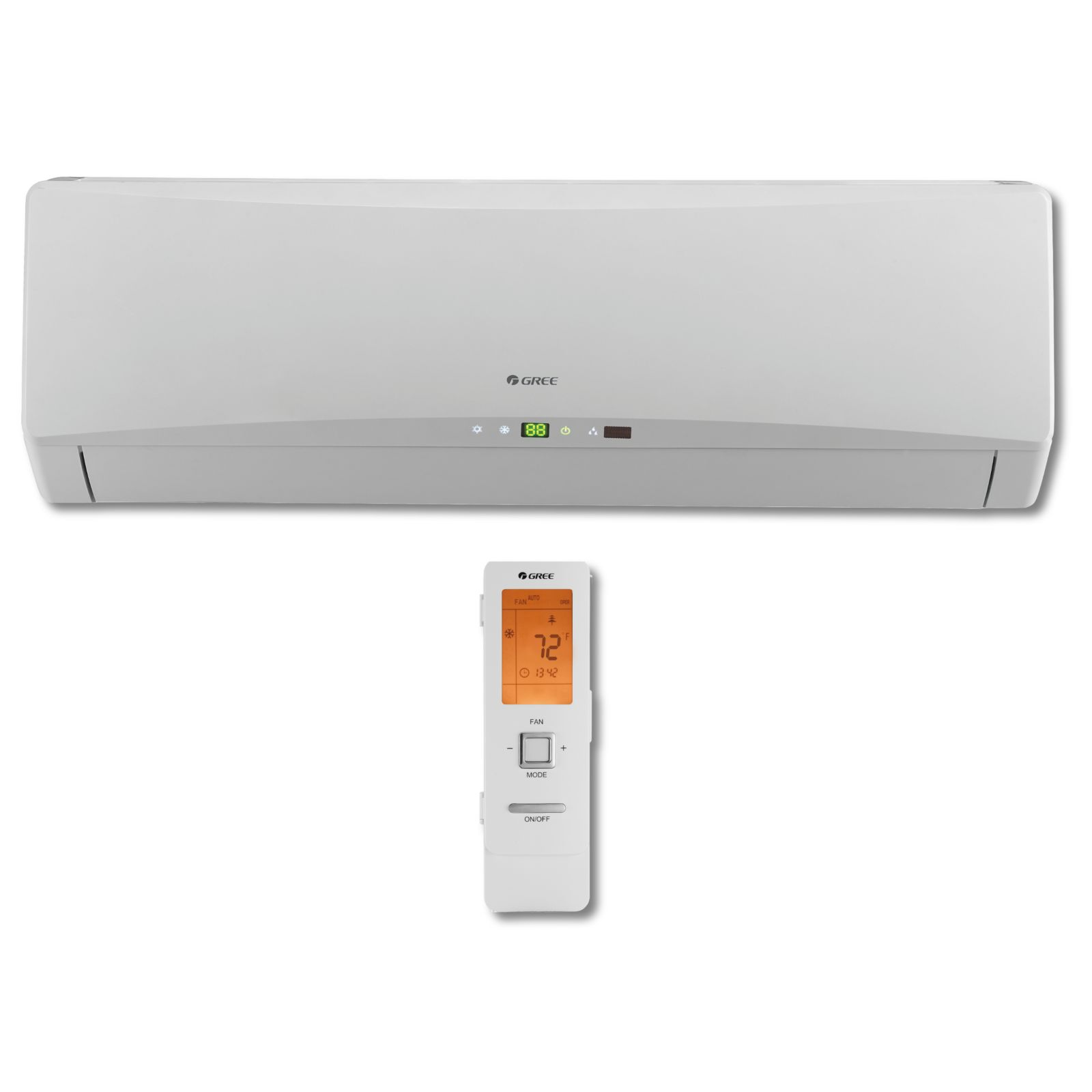 GREE TERRA24HP230V1BH - 2 Ton 21 SEER 24,000 BTU TERRA Ductless Mini-Split Indoor Unit 208-230/1/60 Ultra High Efficiency
